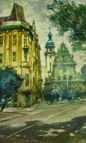 Юрій Скандаков. Львівський етюд, 1982