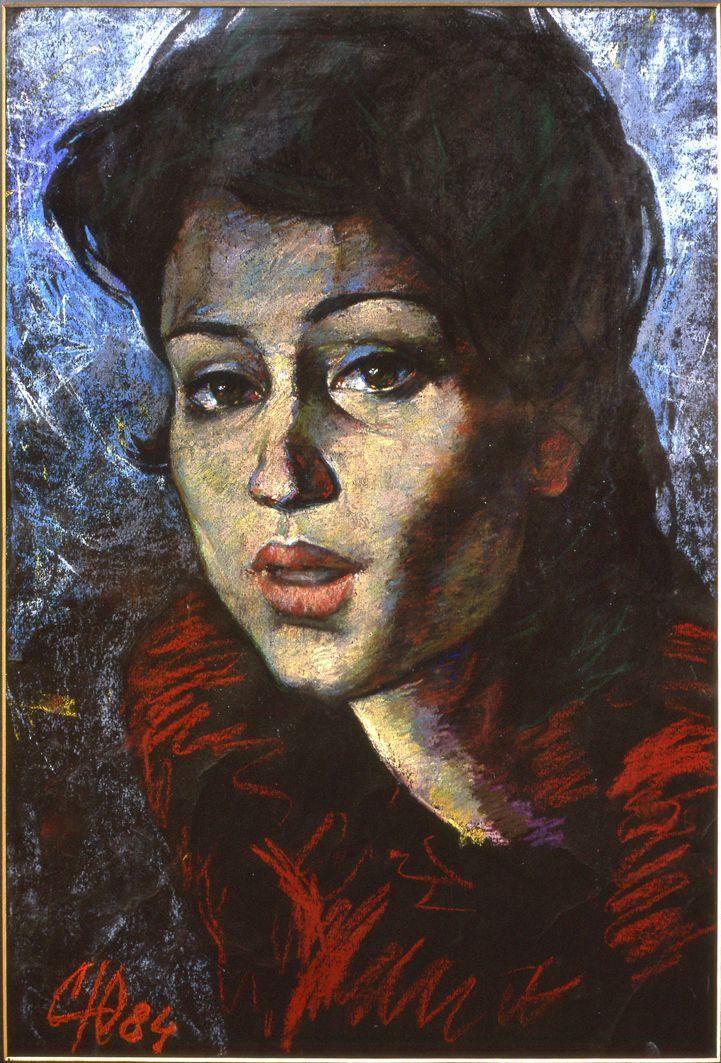 Юрій Скандаков. Портрет дружини, 1984