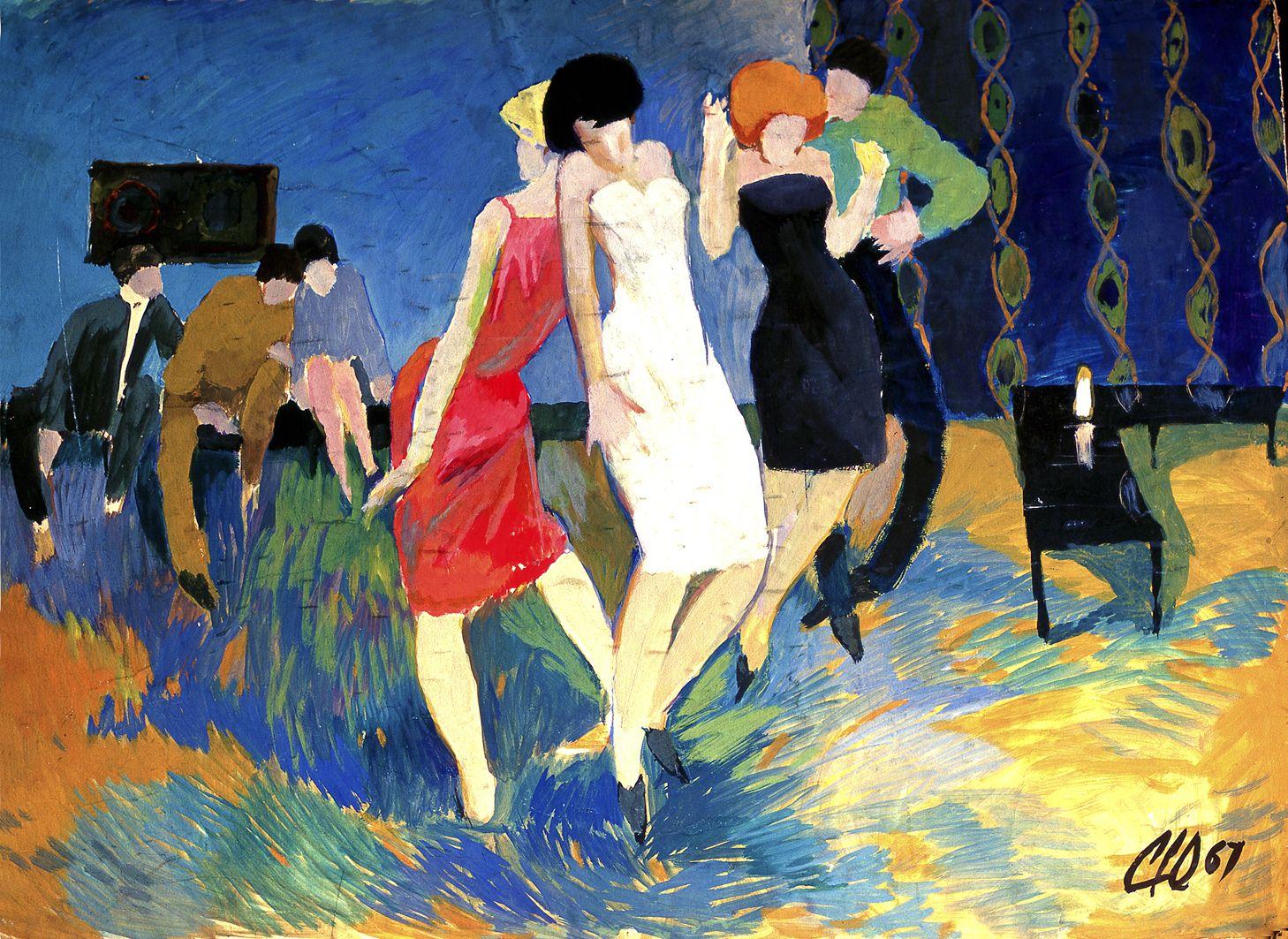 Юрій Скандаков. Танцювальна вечірка, 1967