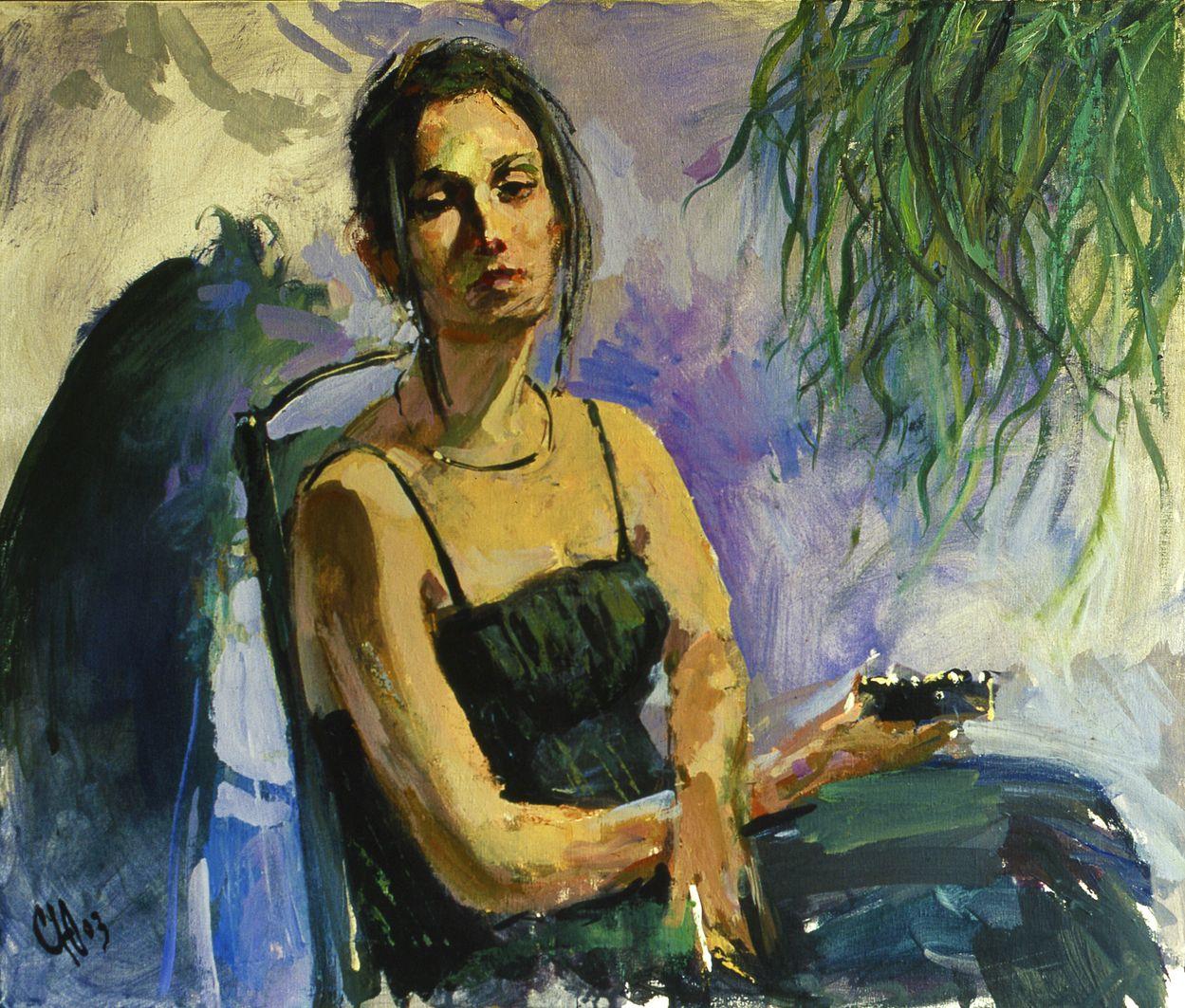 Юрій Скандаков. Жінка з сигаретою, 2003