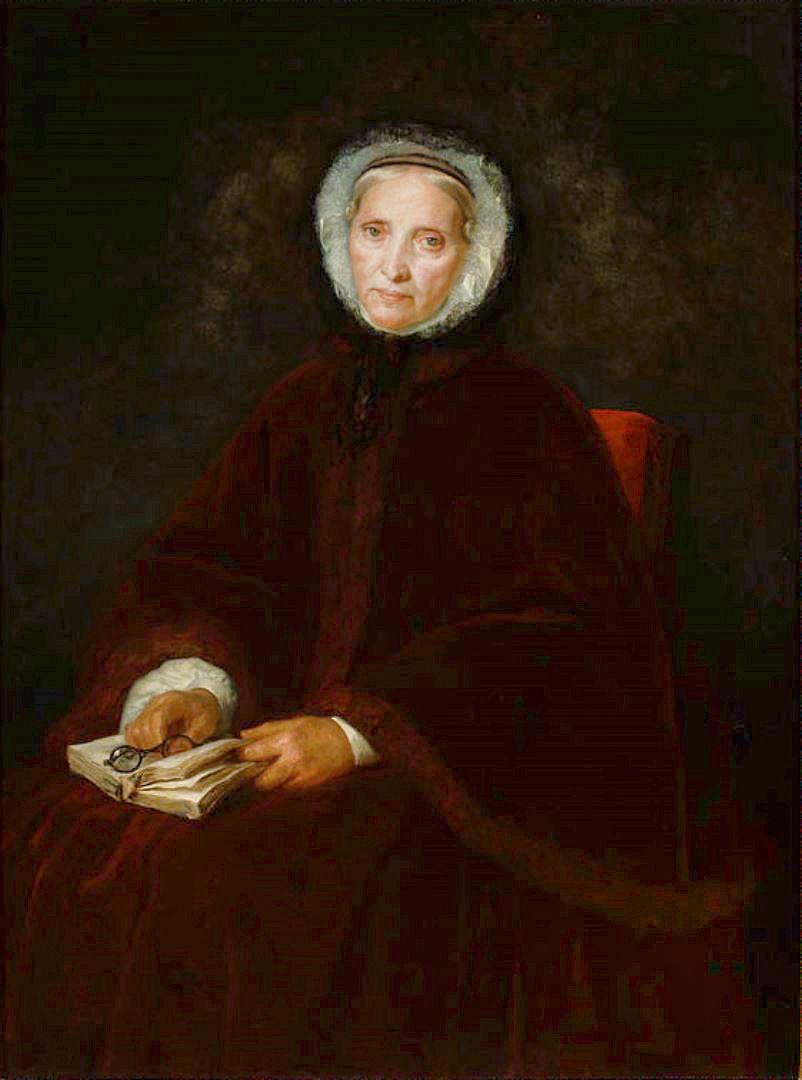 Генрік Родаковський. Портрет Babetty Singer, 1863