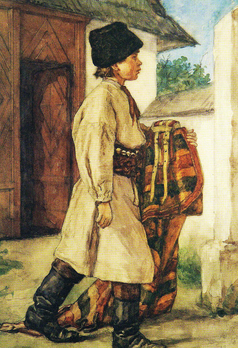 Генрік Родаковський. Конюх Йосиф, с. Палагичі, 1867