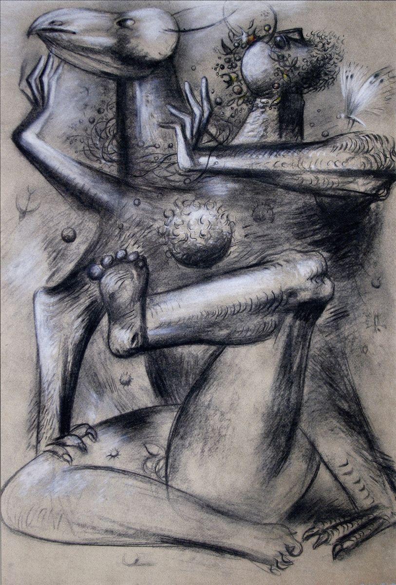 Євген Лисик. Без назви, 1990