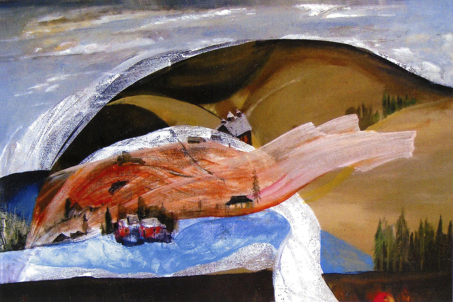Михайло Безпальків. Карпатські фантазії, 2011. Олія, полотно; 60х80