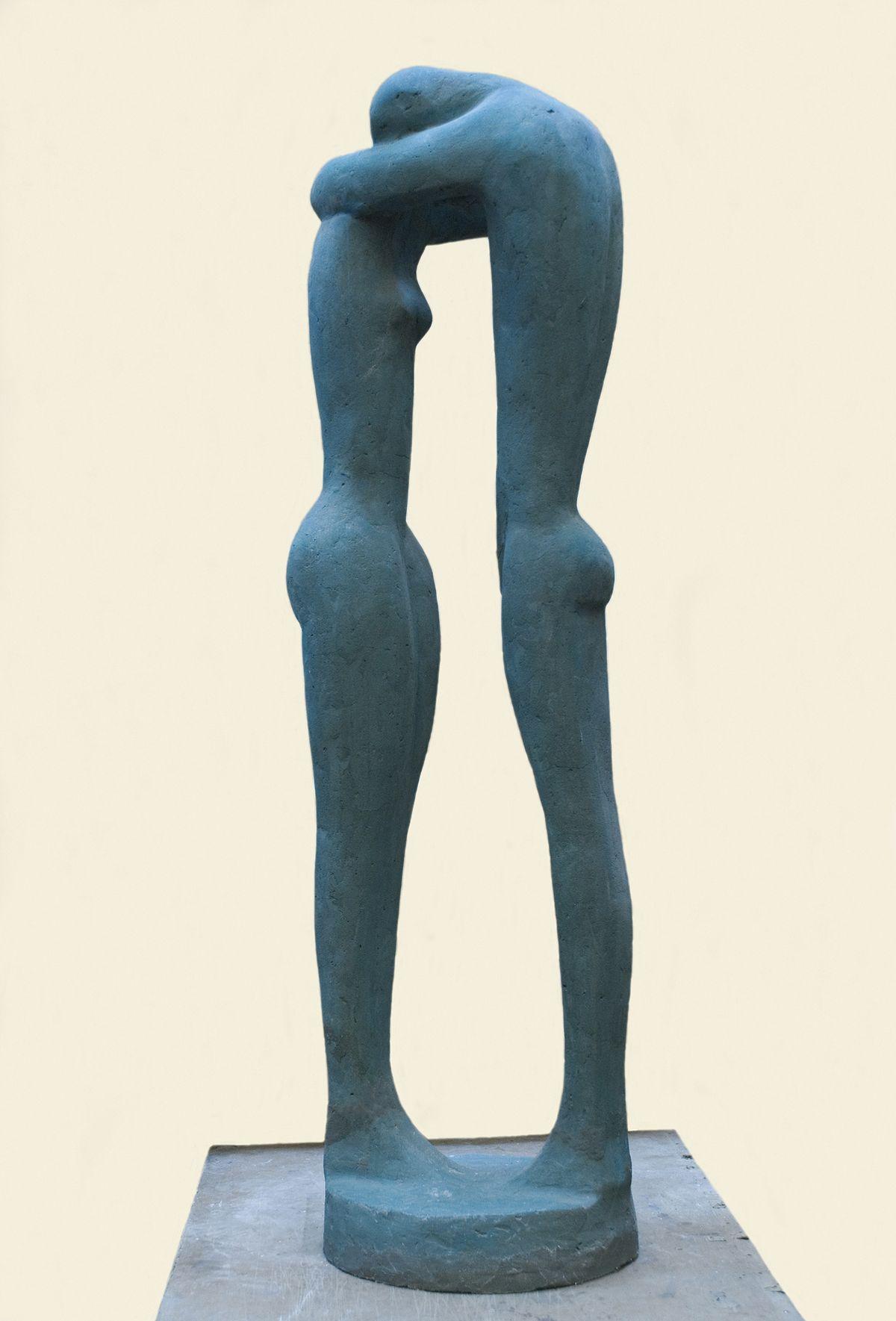 Теодозія Бриж. Двоє IV, 1967, бетон