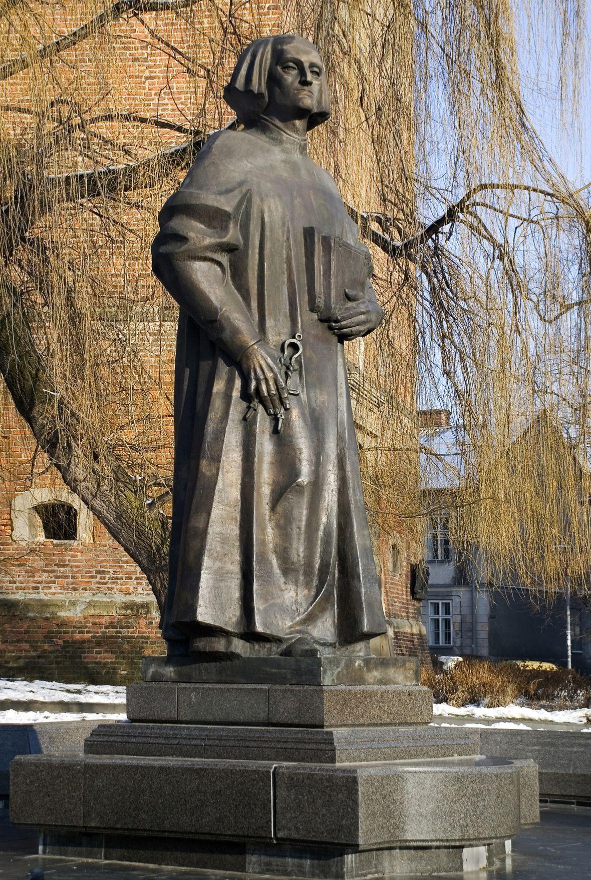 Теодозія Бриж. Пам'ятник Юрію Дрогобичу, 1999, бронза