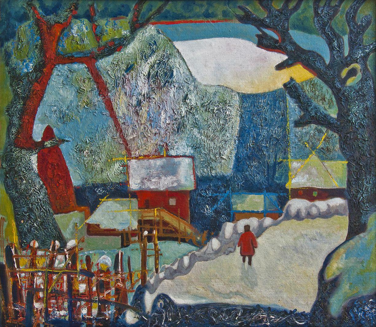 Володимир Риботицький. Біля Косова, 1980