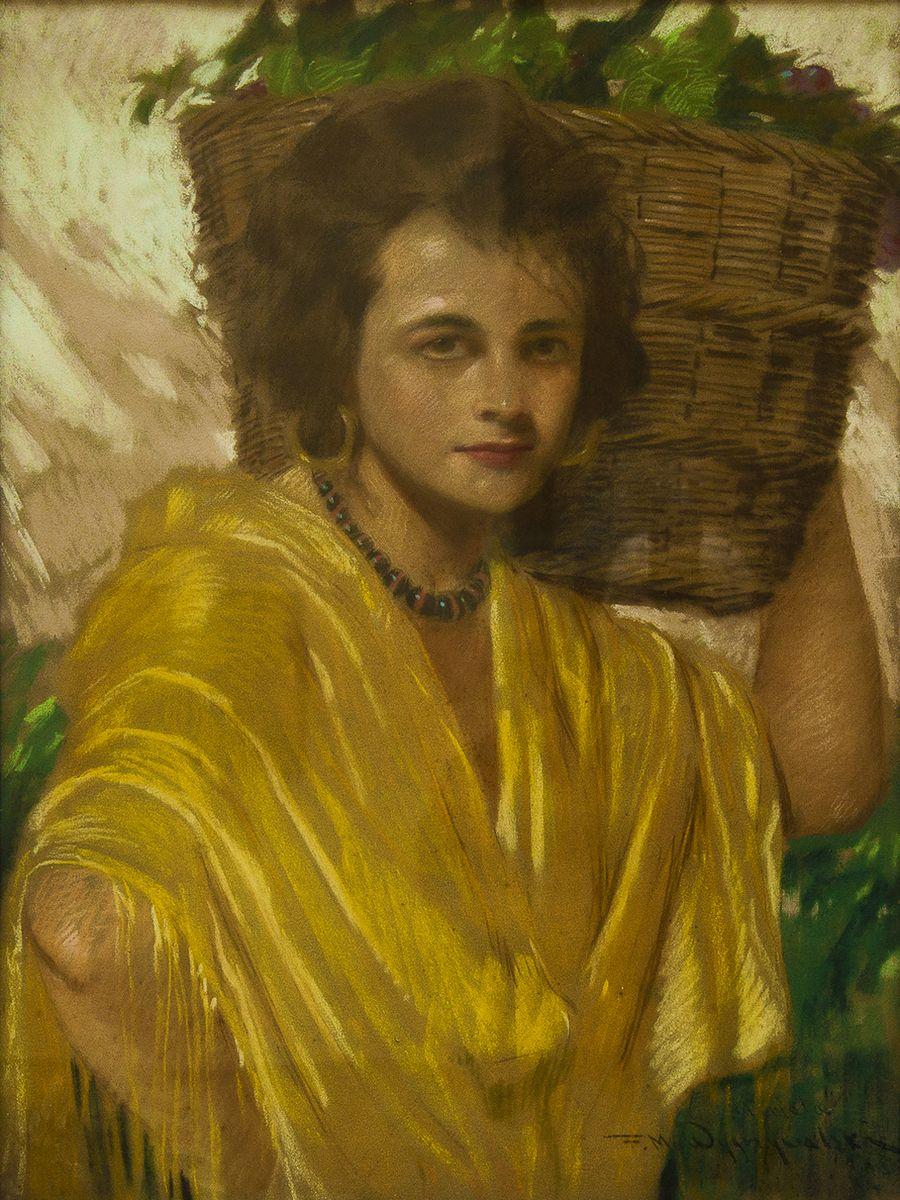 Фелікс Вигживальський. Жіночий портрет