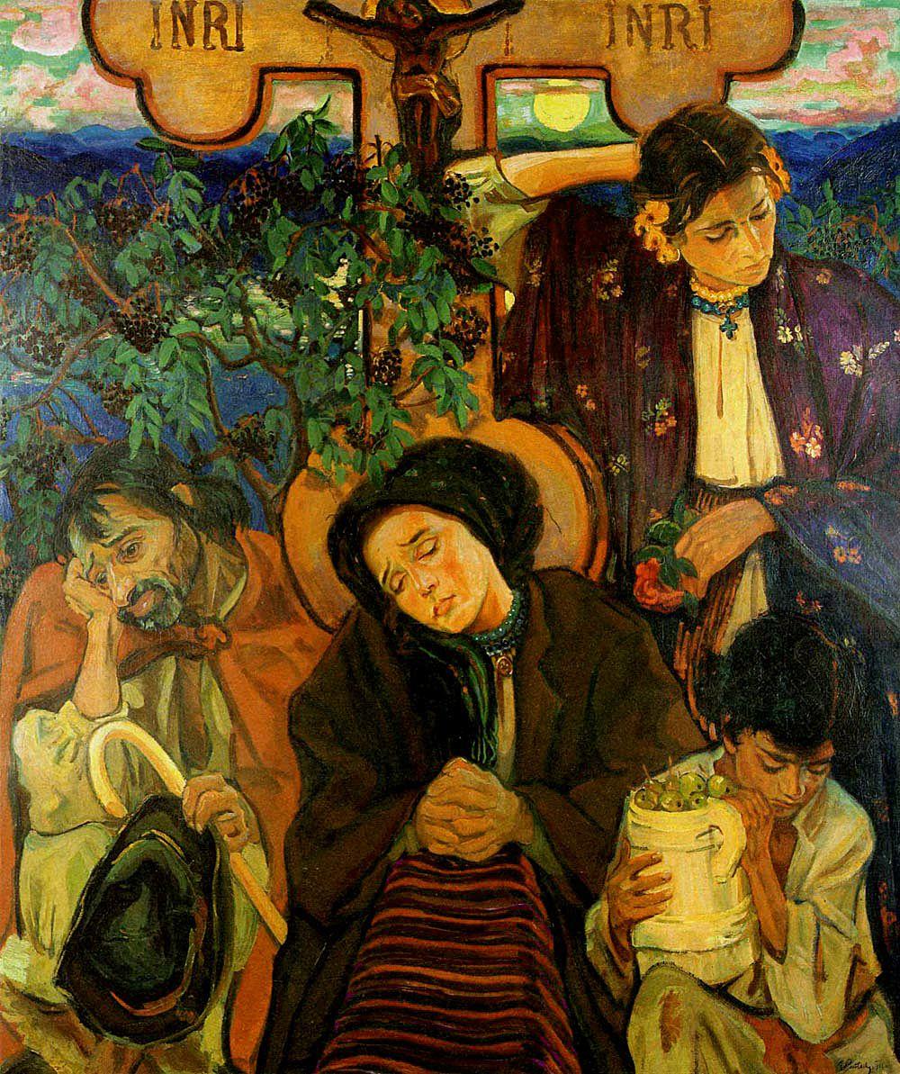 Фредерік Паутч. Під хрестом, 1911