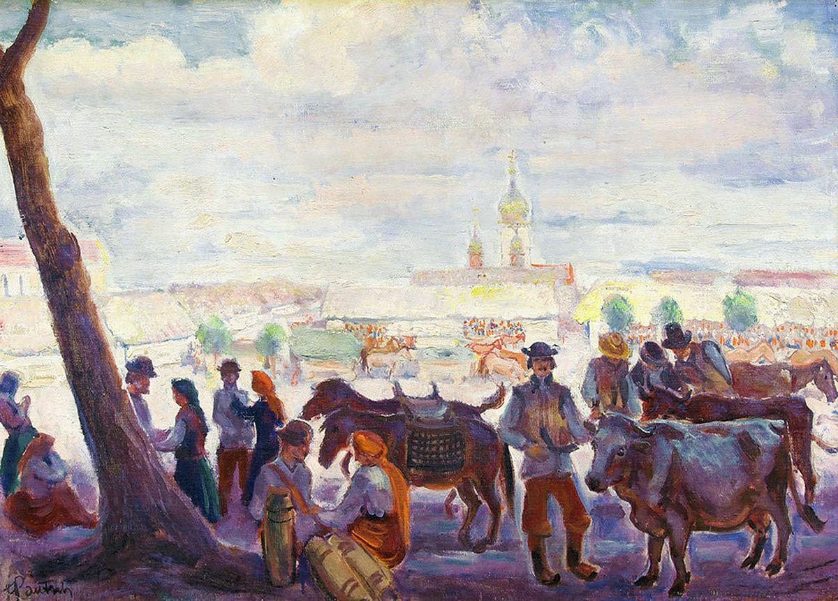 Фредерік Паутч. Ринок в Косові