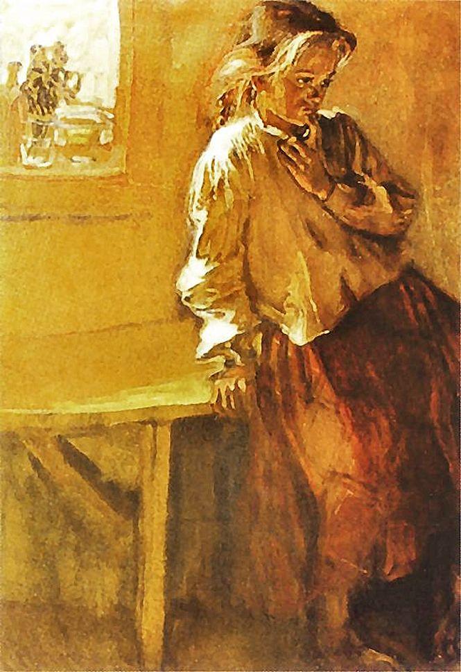 Фредерік Паутч. Замислилась, 1908