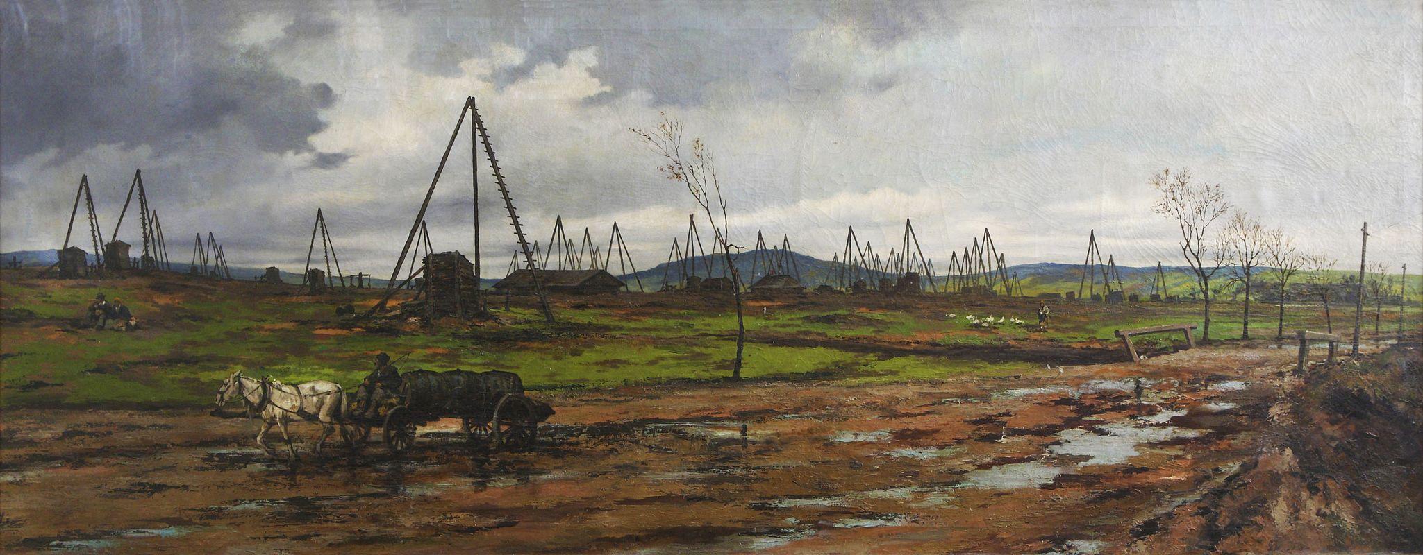 Тадеуш Рибковський. Нафтовий промисел в Галичині, 1894