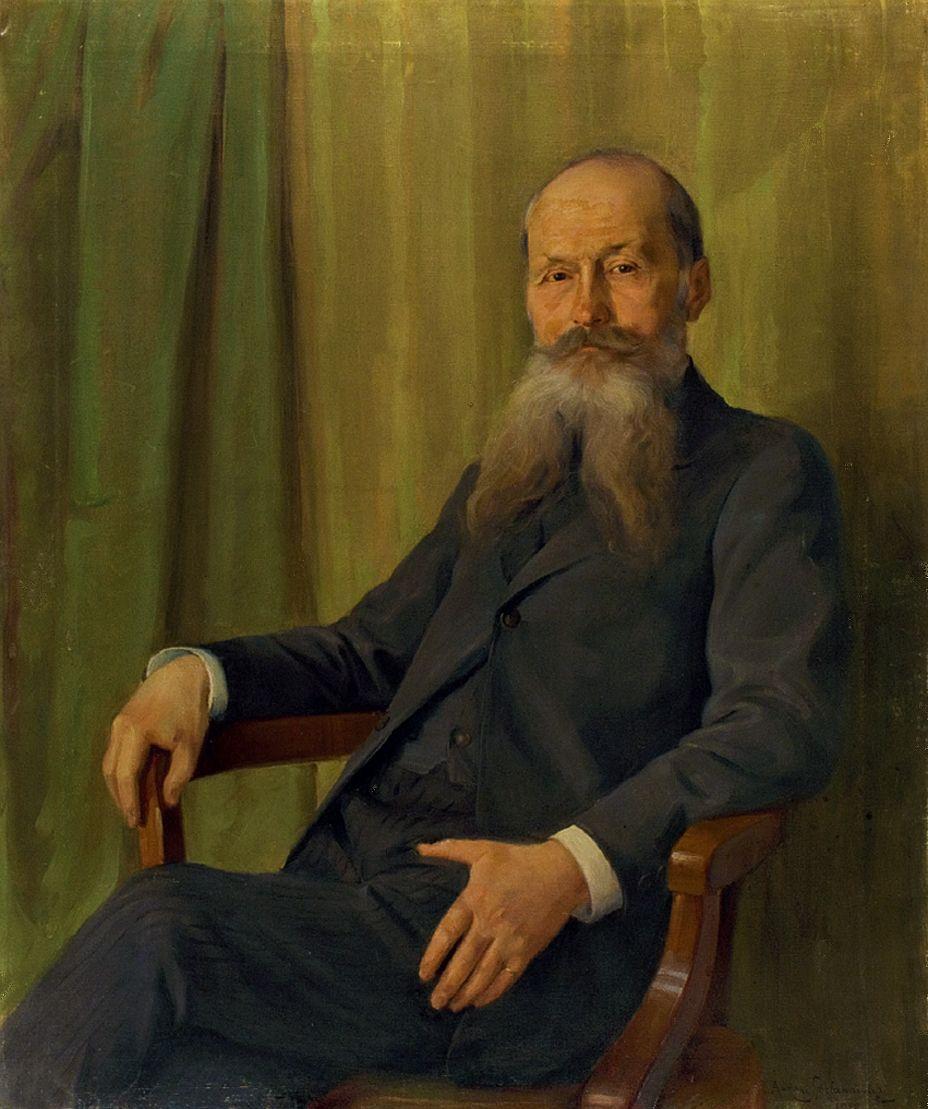 Антоні Стефанович. Чоловічий портрет, 1912