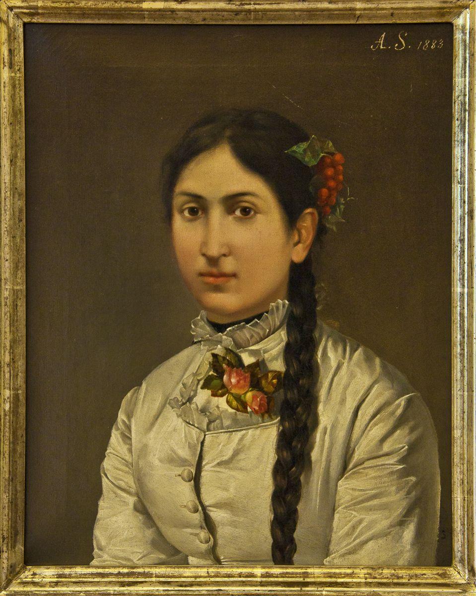 Антоні Стефанович. Молода жінка, 1883