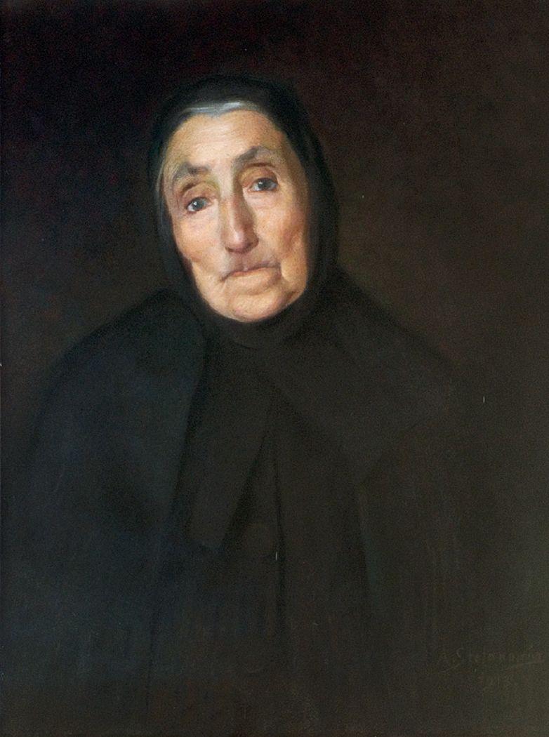 Антоні Стефанович. Портрет бабусі художника, 1913