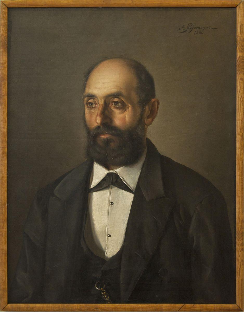 Антоні Стефанович. Портрет батька, 1886