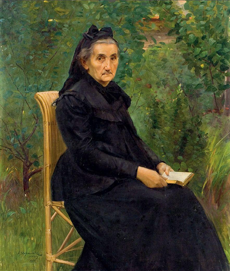 Антоні Стефанович. Портрет матері художника, 1911