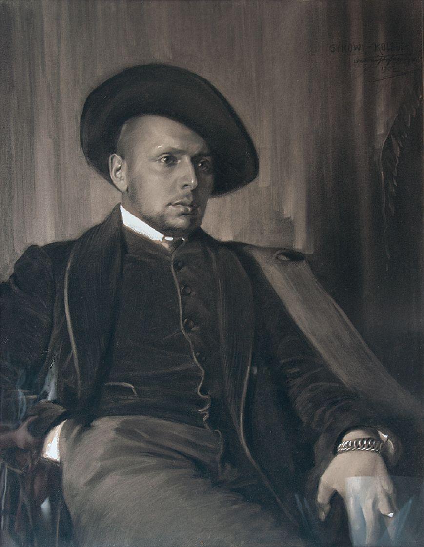 Антоні Стефанович. Портрет сина, 1907