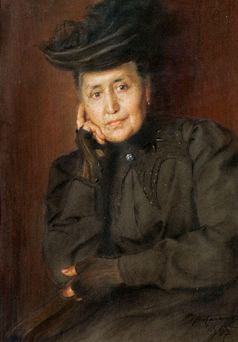 Антоні Стефанович. Жіночий портрет, 1907
