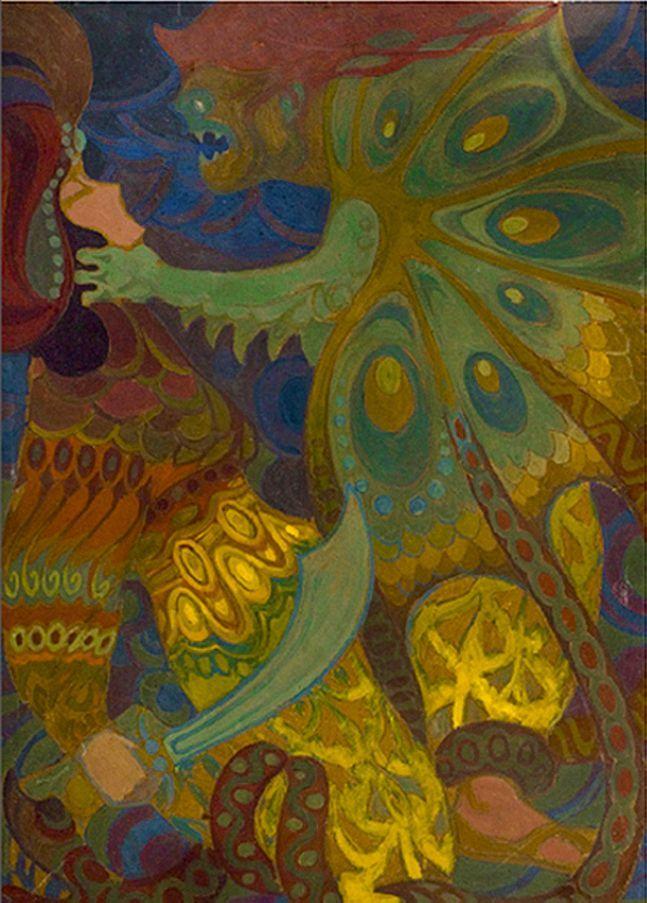 Каєтан Стефанович. Царевич і смерть, 1912-13