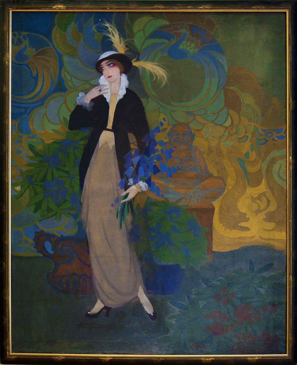 Каєтан Стефанович. Парижанка 1912