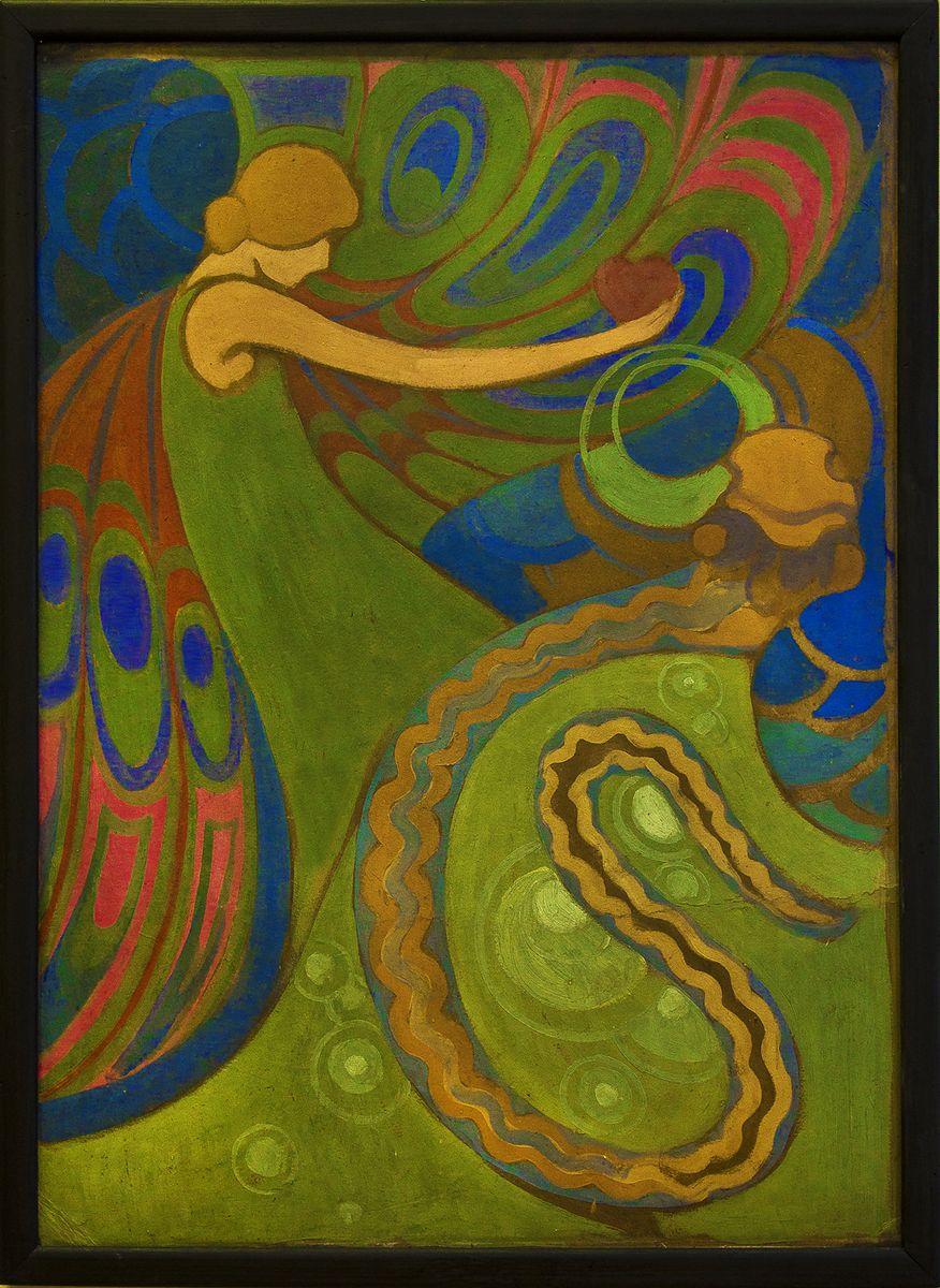 Каєтан Стефанович. Жінка і змія, 1912-13