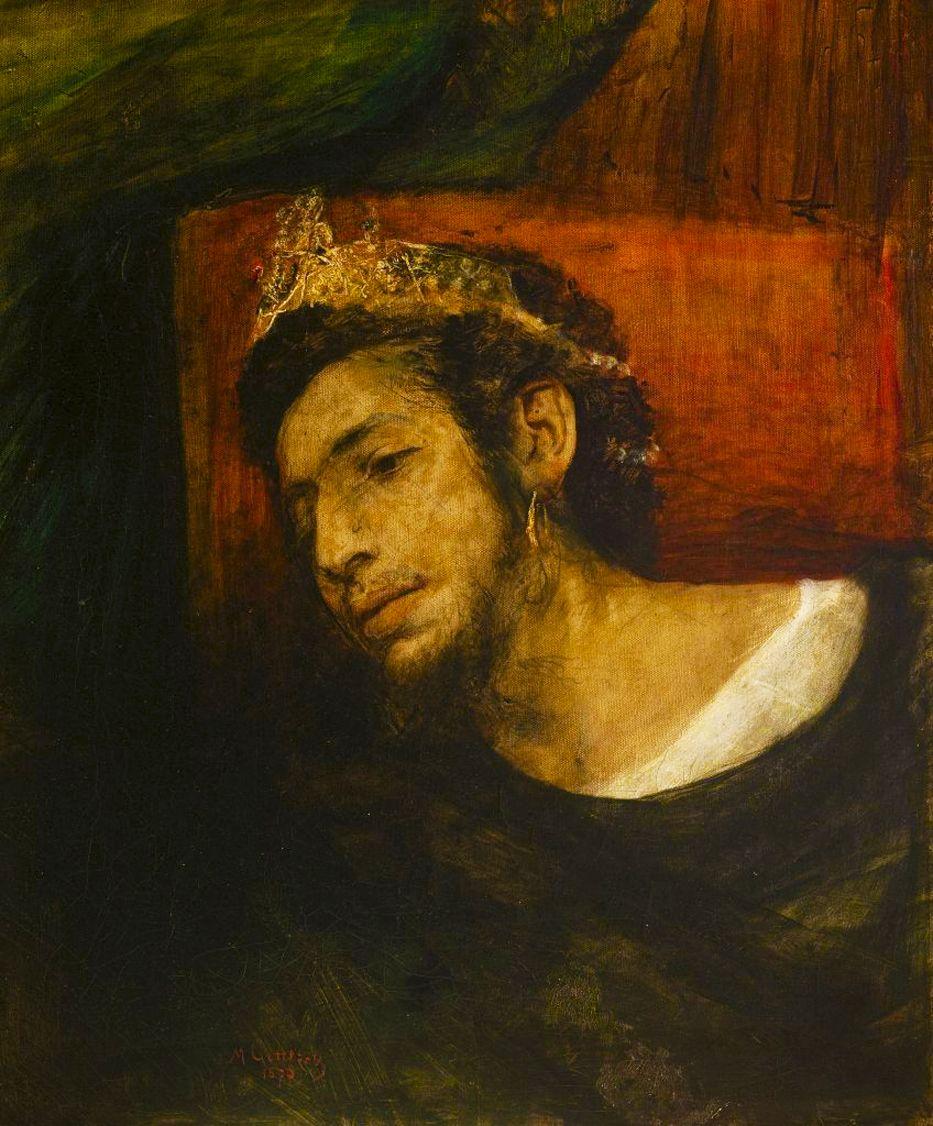 Маурицій Ґотліб. Агасфер (автопортрет), 1876
