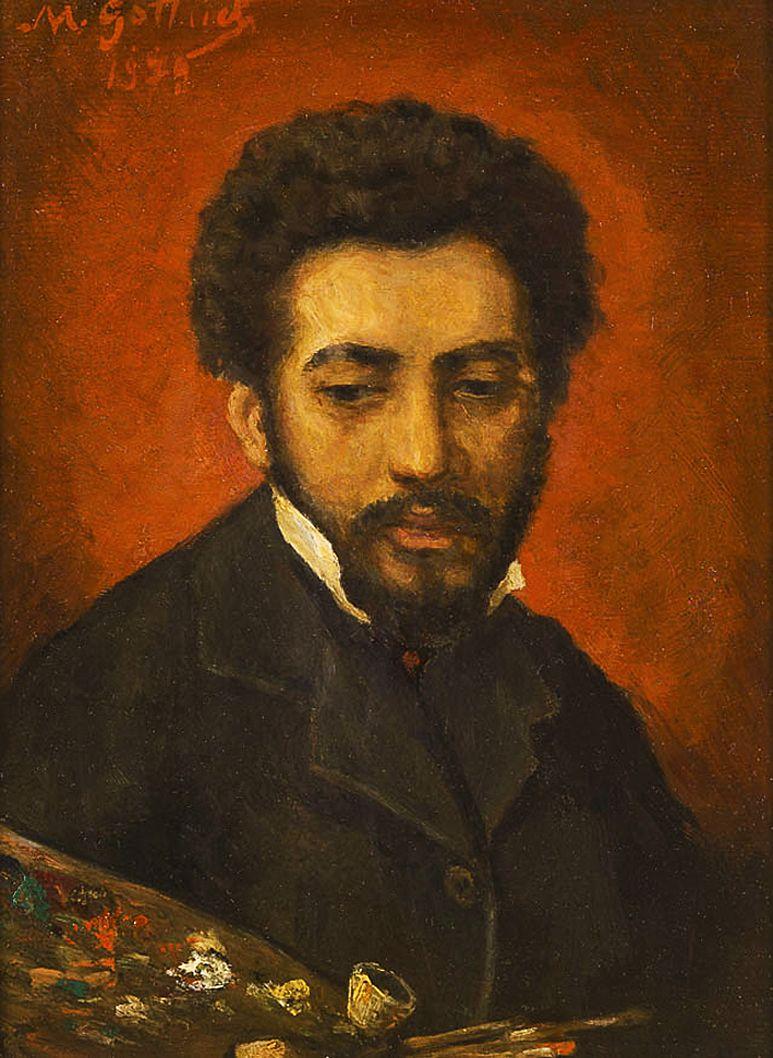 Маурицій Ґотліб. Автопортерт, 1879 (Париж)