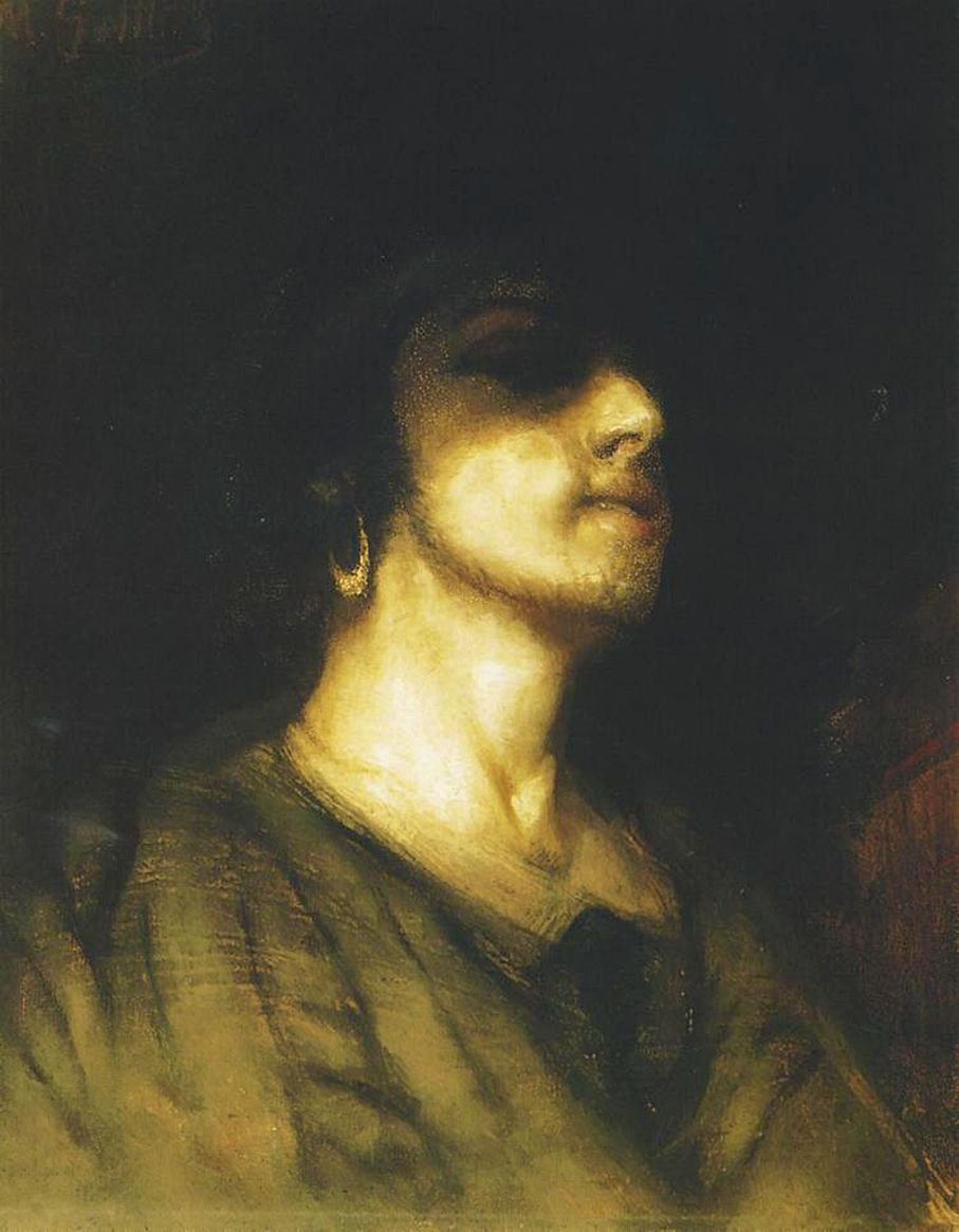 Маурицій Ґотліб. Автопортрет, 1876