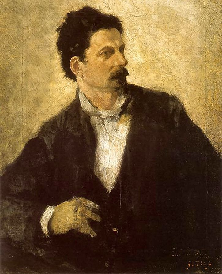 Маурицій Ґотліб. Художник Францішек Жмурко, 1879