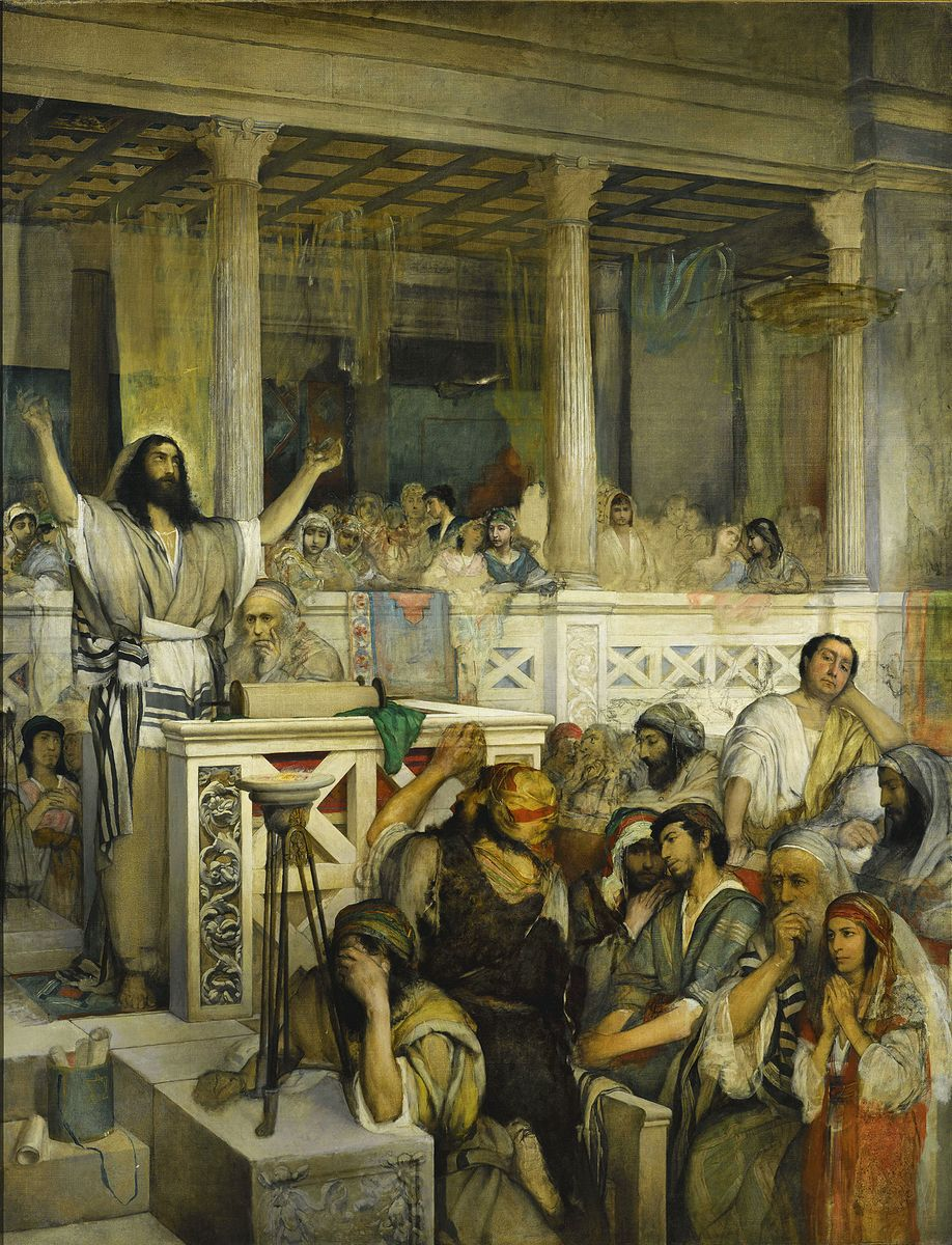 Маурицій Ґотліб. Проповідь Христа в Капернаумі, 1879