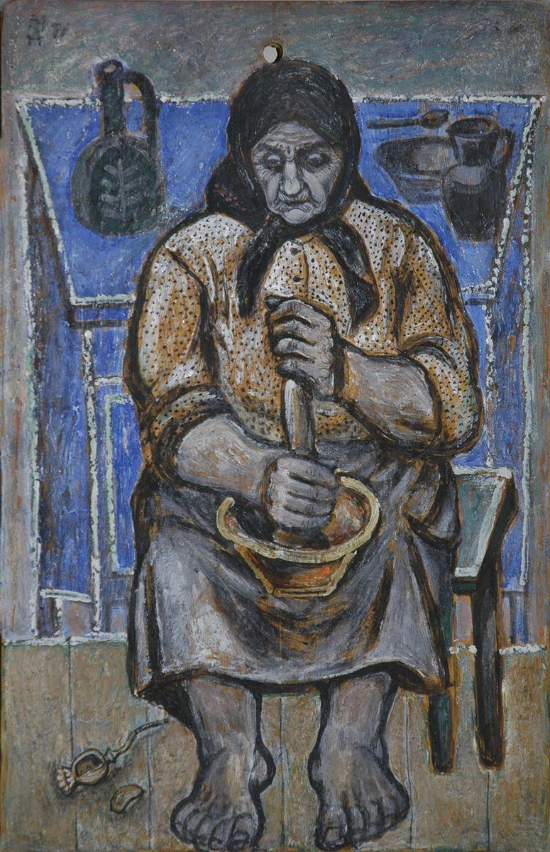 Микола Андрущенко. Бабуся, 1971