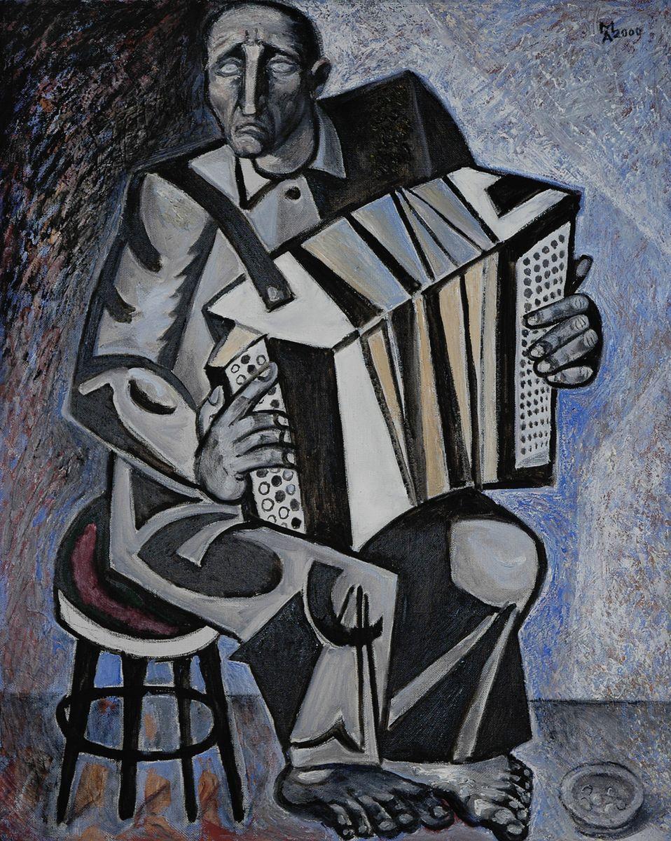 Микола Андрущенко. Музикант-жебрак, 2000