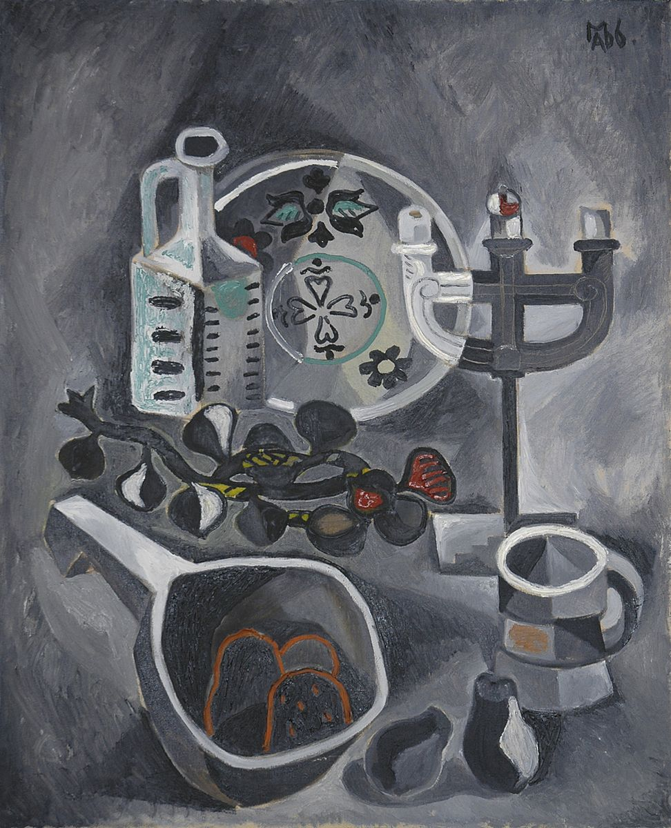 Микола Андрущенко. Натюрморт з цибулею, 1966