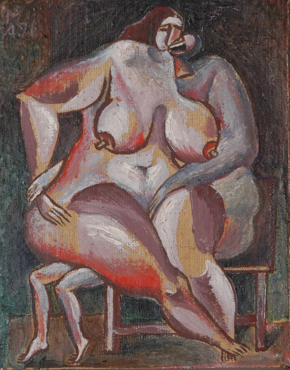 Микола Андрущенко. Закохані, 1993