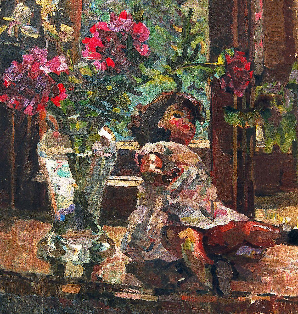 Ростислав Сильвестров. Натюрморт з лялькою