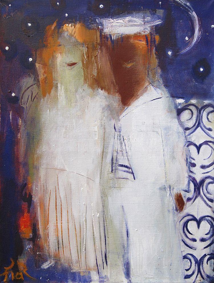 Тетяна Тарасенко. Рандеву; полотно, олія 80х60