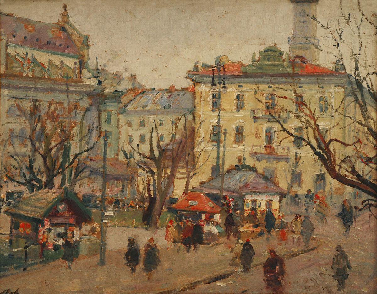 Ерно Ерб. Вид на Гетманські вали, бл. 1930