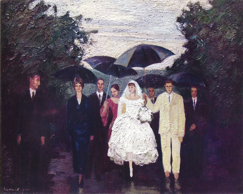 Петро Сипняк. Весілля дощ