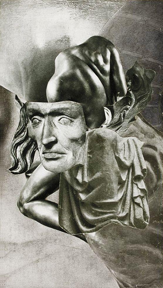 Олександр Кшивоблоцький. Композиція фотоколаж, 1949-1948