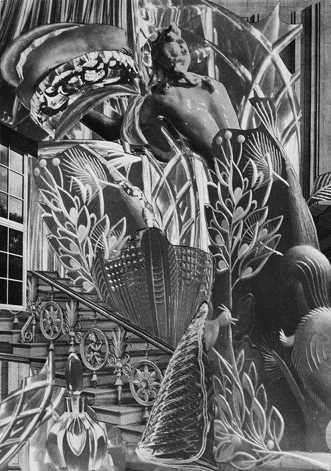 Олександр Кшивоблоцький. Букет кришталевий, 1955 фотоколаж