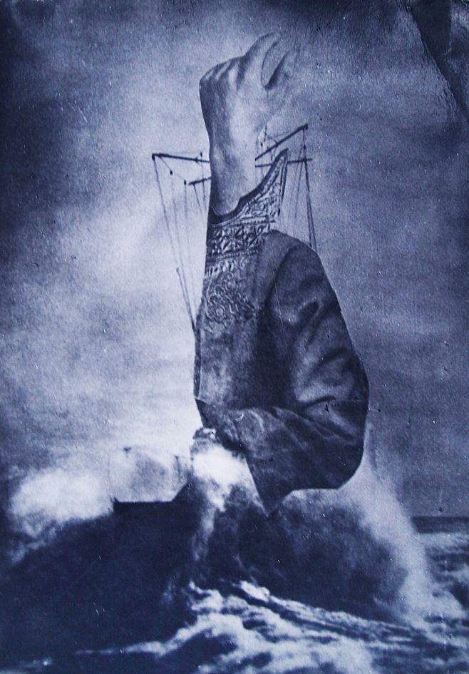 Олександр Кшивоблоцький. S.O.S. 1928 фотоколаж