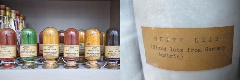 Бібліотека кольору зберігає більше 2,5 тис пігментів з усього світу