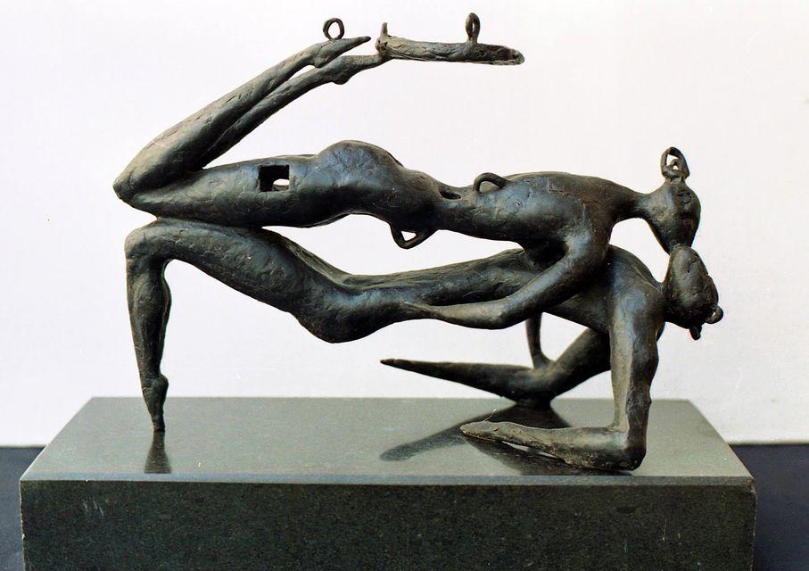 Олег Капустяк. Чорне небо, 1992