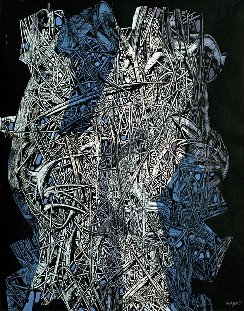 Іван Марчук. Абстрактна композиція #367, 1995
