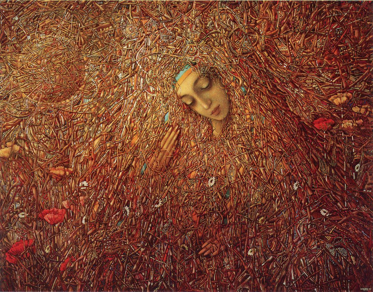 Іван Марчук. Пробудження, 1992