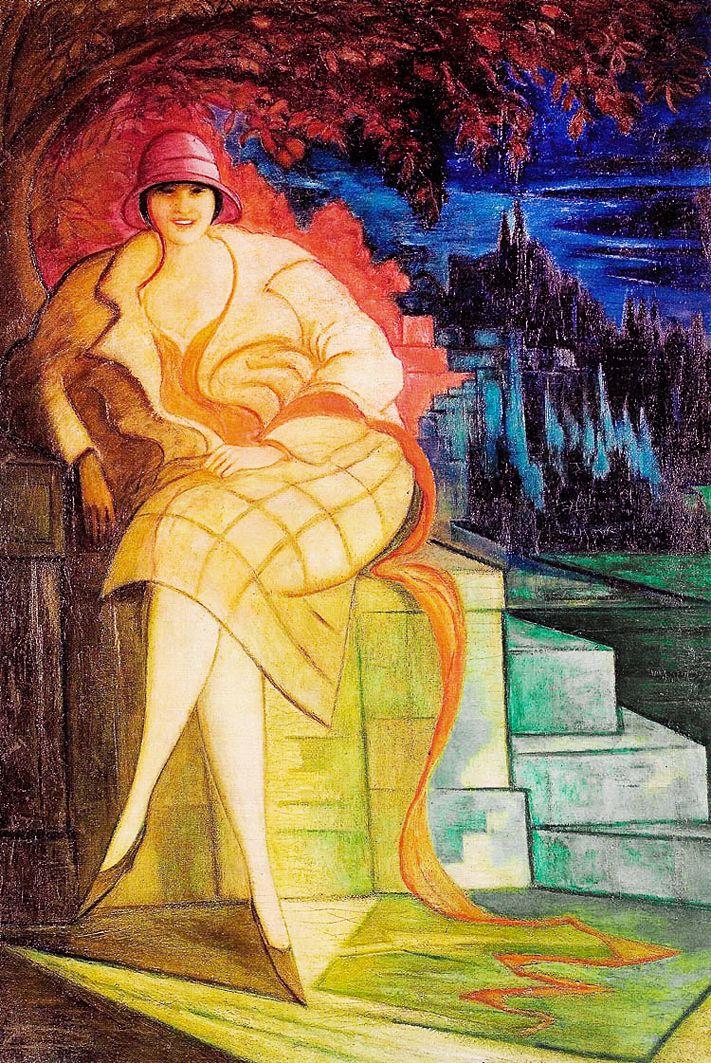 Леон Хвістек. Портрет дружини, 1927