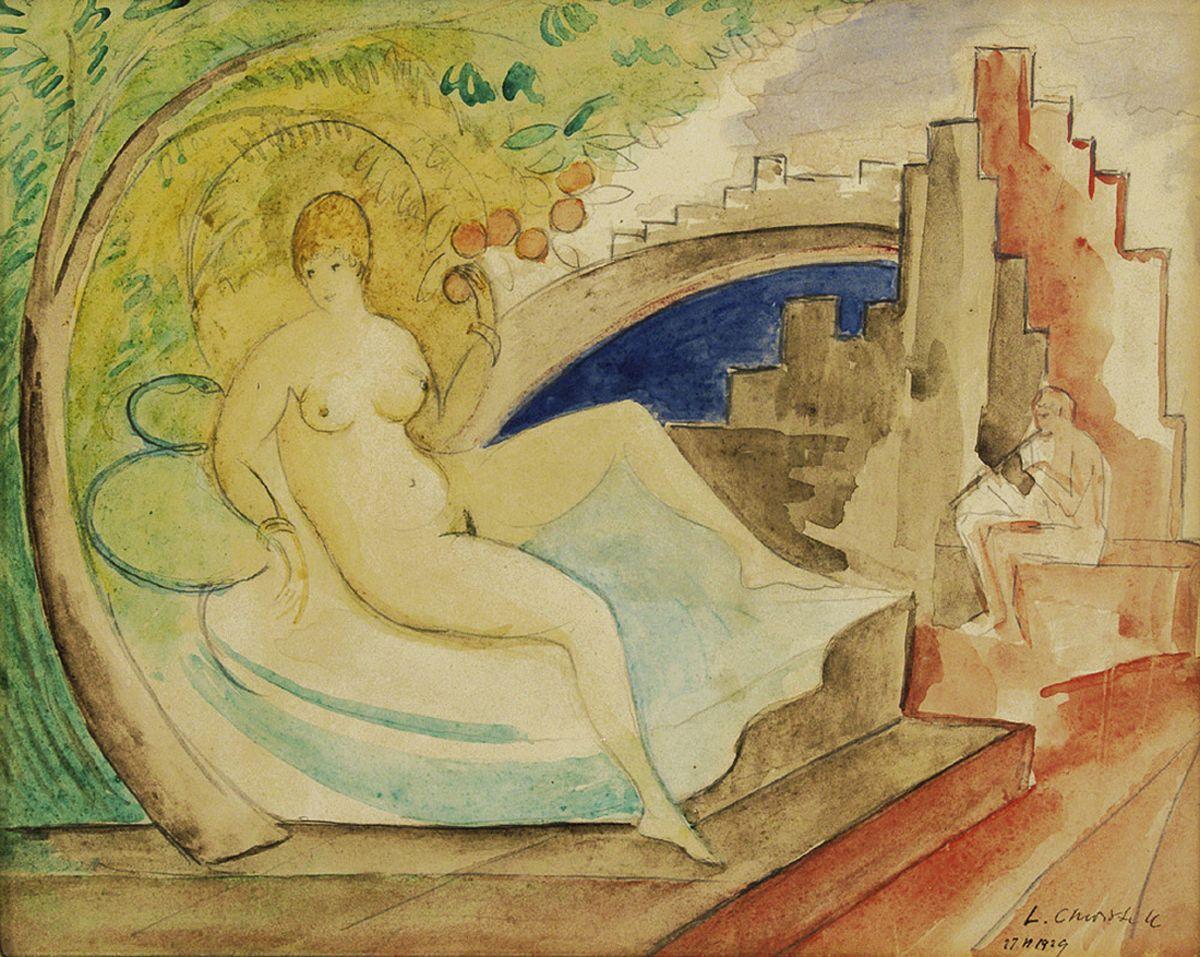 Леон Хвістек. Сватання, 1929