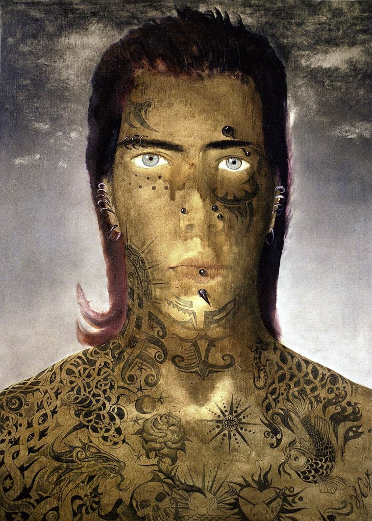 Роман Жук. Tatoo Man, 2004
