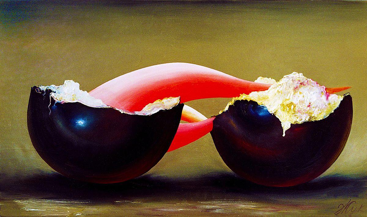 Роман Жук. Поцілунок, 2004